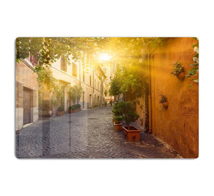 Old street in Trastevere HD Metal Print