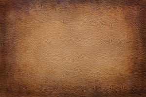 Old vintage brown leather Wall Mural Wallpaper - Canvas Art Rocks - 1