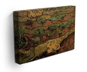 Olive Trees against a Slope of a Hill by Van Gogh Canvas Print & Poster - Canvas Art Rocks - 3