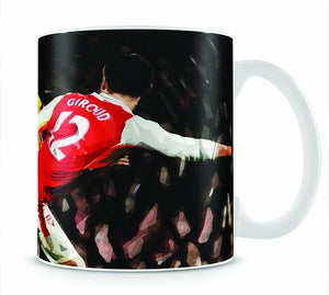 Olivier Giroud Scorpion Kick Mug - Canvas Art Rocks - 1