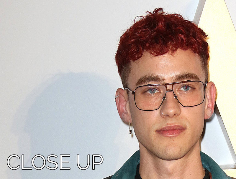 Olly Alexander at A Star is Born UK Premiere 3 Split Panel Canvas Print - Canvas Art Rocks - 3