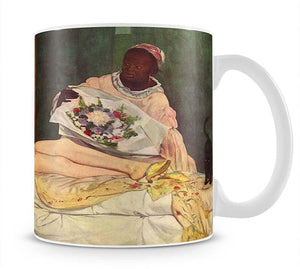 Olympia 1 by Manet Mug - Canvas Art Rocks - 1