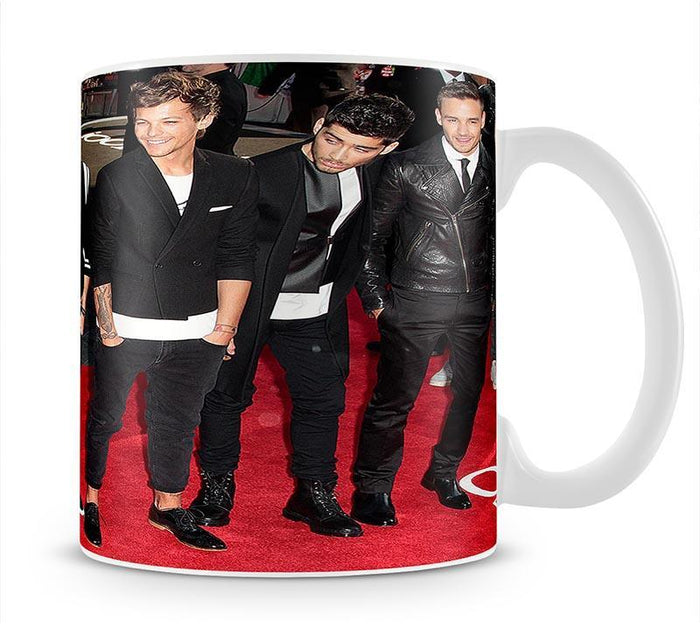 One Direction on the red carpet Mug
