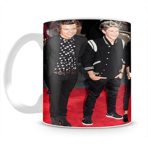 One Direction on the red carpet Mug - Canvas Art Rocks - 2