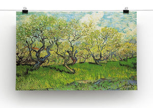 Orchard in Blossom 2 by Van Gogh Canvas Print & Poster - Canvas Art Rocks - 2