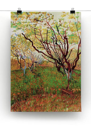 Orchard in Blossom by Van Gogh Canvas Print & Poster - Canvas Art Rocks - 2