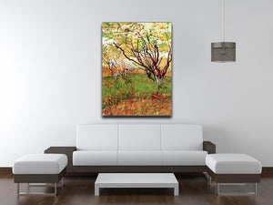 Orchard in Blossom by Van Gogh Canvas Print & Poster - Canvas Art Rocks - 4