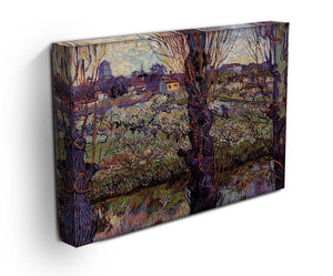 Orchard in Blossom with View of Arles by Van Gogh Canvas Print & Poster - Canvas Art Rocks - 3