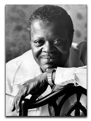 Oscar Peterson 1975 Canvas Print or Poster - Canvas Art Rocks - 1