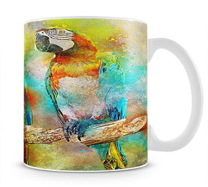 Pair Of Parrots Mug - Canvas Art Rocks - 1