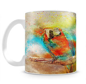 Pair Of Parrots Mug - Canvas Art Rocks - 2