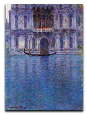 Palazzo 1 by Monet Canvas Print & Poster  - Canvas Art Rocks - 1