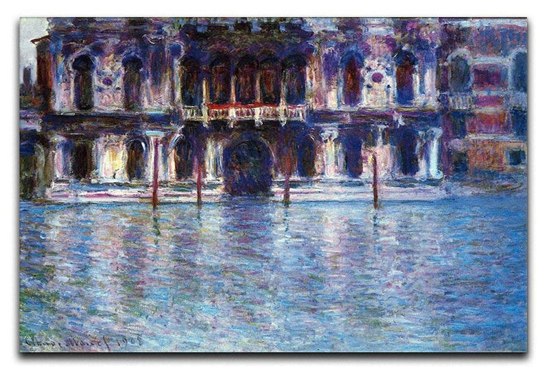 Palazzo 2 by Monet Canvas Print & Poster  - Canvas Art Rocks - 1