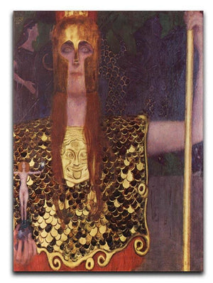 Pallas Athena by Klimt Canvas Print or Poster  - Canvas Art Rocks - 1