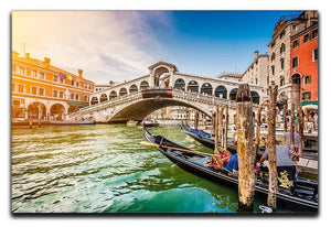 Panoramic view of Canal Grande Canvas Print or Poster  - Canvas Art Rocks - 1