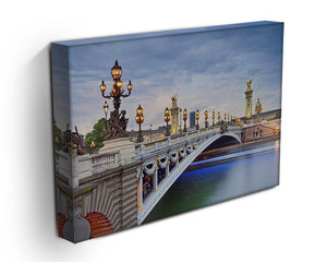 Paris image of the Alexandre III Canvas Print or Poster - Canvas Art Rocks - 3