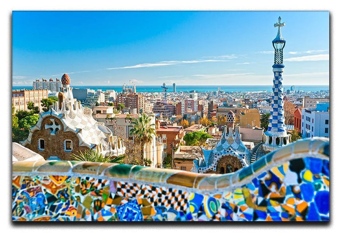 Park Guell Canvas Print or Poster