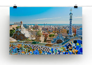 Park Guell Canvas Print or Poster - Canvas Art Rocks - 2