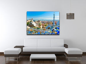 Park Guell Canvas Print or Poster - Canvas Art Rocks - 4