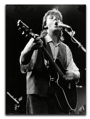 Paul McCartney on stage in 1989 Canvas Print or Poster  - Canvas Art Rocks - 1