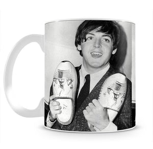 Paul McCartney with a pair of clogs Mug - Canvas Art Rocks - 2