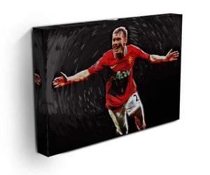 Paul Scholes Man United Print - Canvas Art Rocks - 3