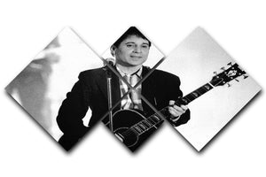 Paul Simon 4 Square Multi Panel Canvas - Canvas Art Rocks - 1