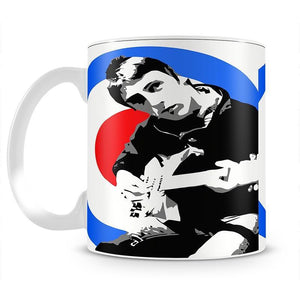 Paul Weller Mod Target Mug - Canvas Art Rocks - 2