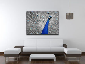 Peacock Print - Canvas Art Rocks - 4