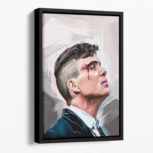 Peaky Blinders Pop Art Floating Framed Canvas