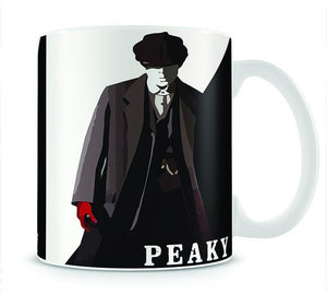 Peaky Blinders Silhouette Mug - Canvas Art Rocks - 1