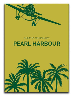 Pearl Habour Minimal Movie Canvas Print or Poster  - Canvas Art Rocks - 1