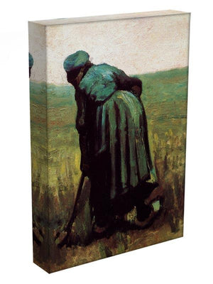 Peasant Woman Digging by Van Gogh Canvas Print & Poster - Canvas Art Rocks - 3
