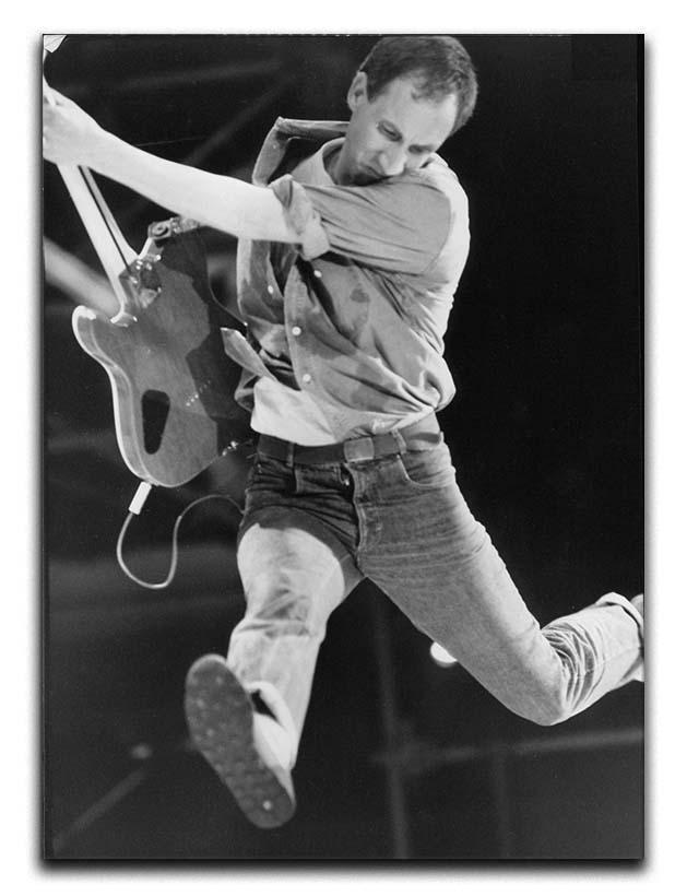 Pete Townshend of The Who Canvas Print or Poster  - Canvas Art Rocks - 1