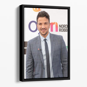 Peter Andre Floating Framed Canvas - Canvas Art Rocks - 1