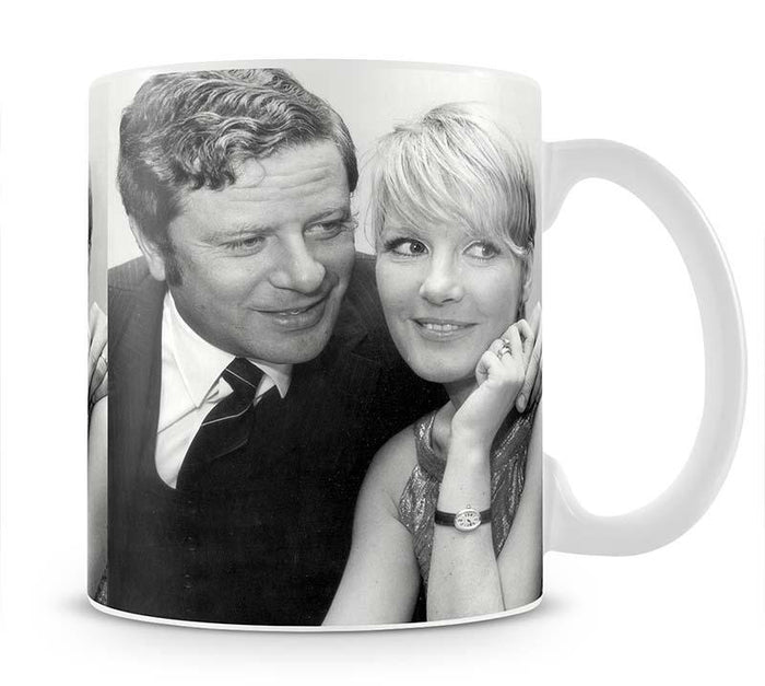 Petula Clark with husband Mug