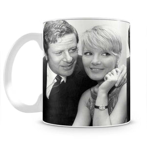Petula Clark with husband Mug - Canvas Art Rocks - 2