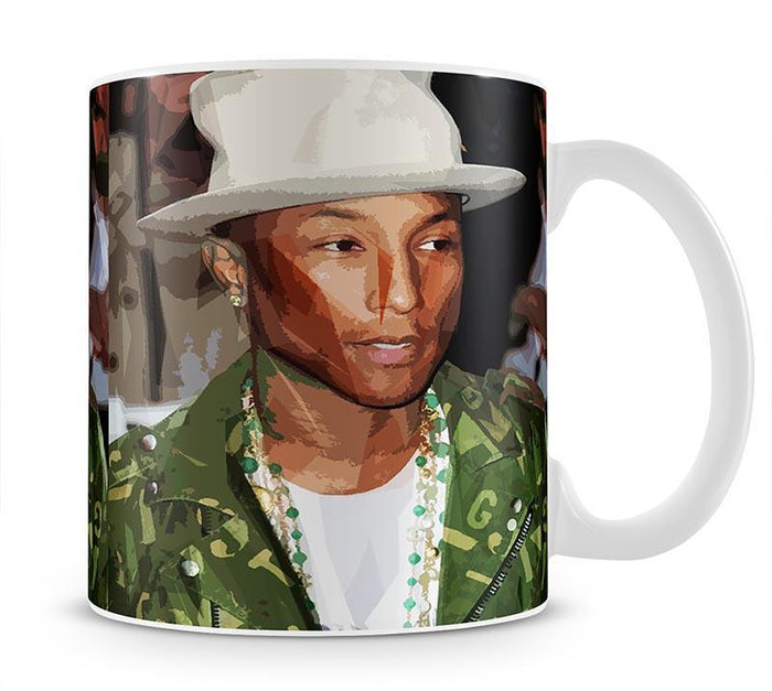 Pharrell Williams Pop Art Mug