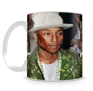 Pharrell Williams Pop Art Mug - Canvas Art Rocks - 2