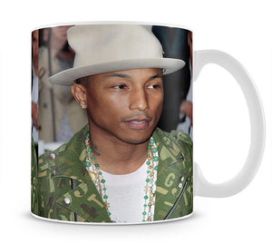 Pharrell Williams in a hat Mug - Canvas Art Rocks - 1
