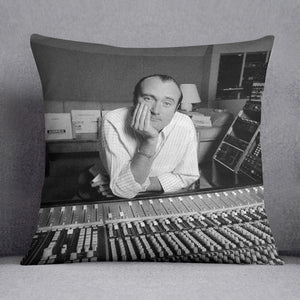 Phil Collins in the studio Cushion