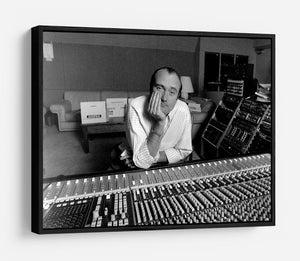 Phil Collins in the studio HD Metal Print - Canvas Art Rocks - 6