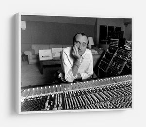 Phil Collins in the studio HD Metal Print - Canvas Art Rocks - 7
