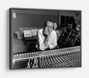 Phil Collins in the studio HD Metal Print - Canvas Art Rocks - 9