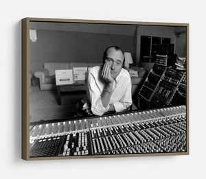 Phil Collins in the studio HD Metal Print - Canvas Art Rocks - 10