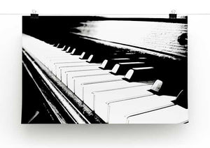 Piano Keyboard Print - Canvas Art Rocks - 2