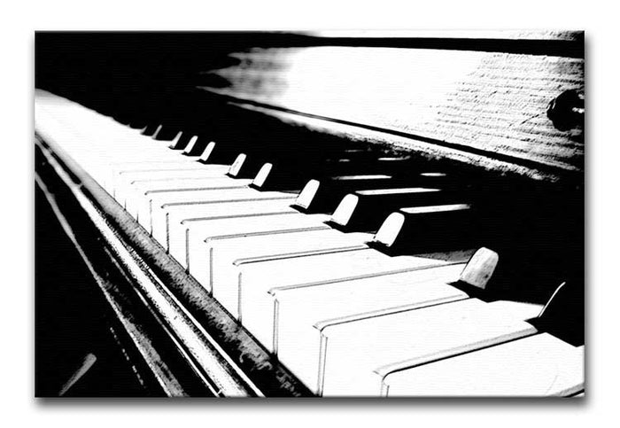 Piano Keyboard Canvas Print or Poster