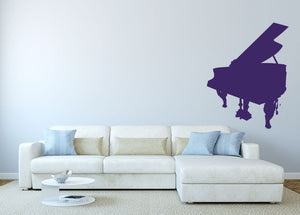 Piano Wall Decal - US Canvas Art Rocks