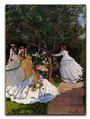 Picnic by Monet Canvas Print & Poster  - Canvas Art Rocks - 1