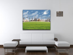 Picture of different landmarks Canvas Print or Poster - Canvas Art Rocks - 4